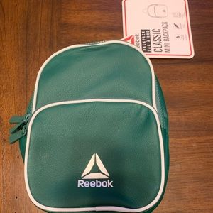 New Classic Reebok Mini BackPack Adjustable Straps